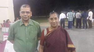 Prof. Sanghi with Prof. Lilavati Krishnan
