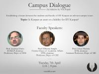 Campus Dialogue I