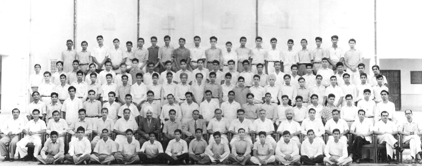 The  pioneer batch of IIT Kanpur (Photograph from March 1961)