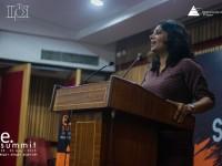Shradha Sharma at E-Summit, IIT Kanpur