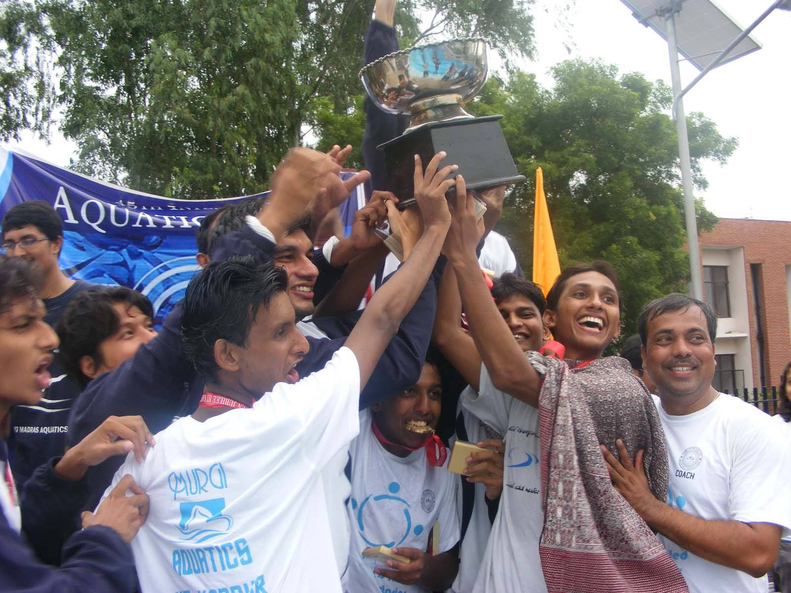 When IIT Kanpur lifted the water polo trophy in 2009