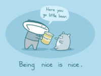 A thought for tomorrow : Let's be nice!